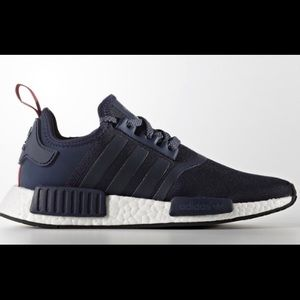 NEW Navy Adidas AUX3 BANDES